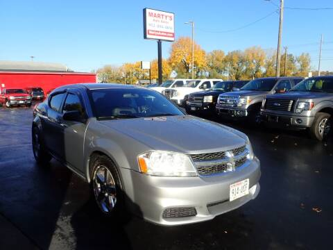 2013 Dodge Avenger for sale at Marty's Auto Sales in Savage MN