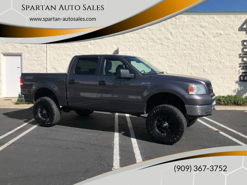 2005 Ford F-150 for sale at Spartan Auto Sales in Upland CA