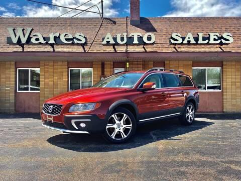 2015 Volvo XC70 for sale at Wares Auto Sales INC in Traverse City MI