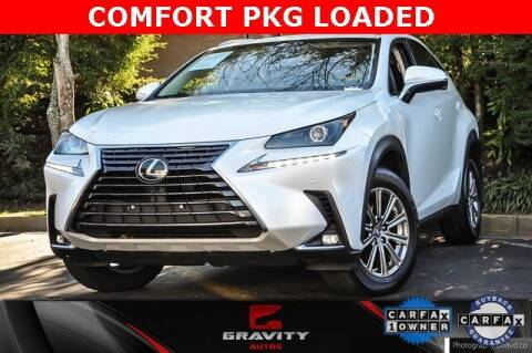 2018 Lexus NX 300 for sale at Gravity Autos Atlanta in Atlanta GA