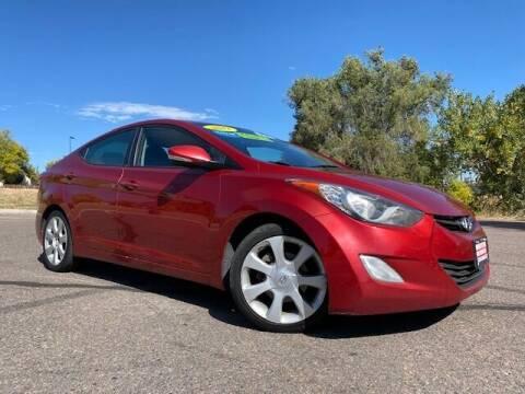 2012 Hyundai Elantra for sale at UNITED Automotive in Denver CO