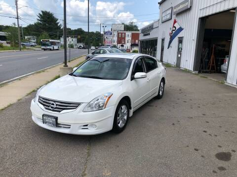 2010 Nissan Altima for sale at New England Motors of Leominster, Inc in Leominster MA