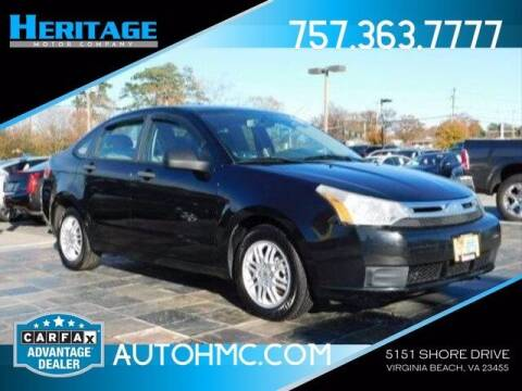2011 Ford Focus for sale at Heritage Motor Company in Virginia Beach VA