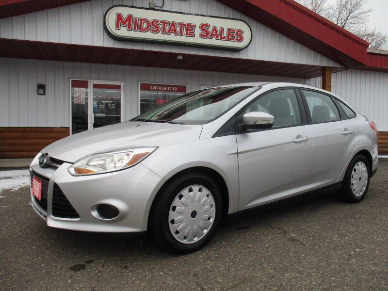 2013 Ford Focus for sale at Midstate Sales in Foley MN