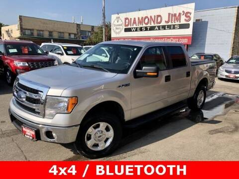 2014 Ford F-150 for sale at Diamond Jim's West Allis in West Allis WI