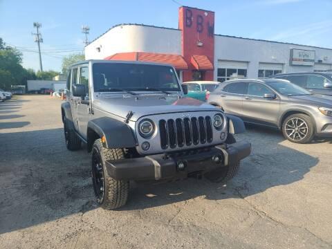 2015 Jeep Wrangler Unlimited for sale at Best Buy Wheels in Virginia Beach VA