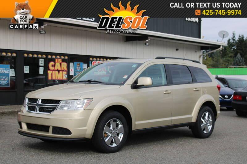 2011 Dodge Journey for sale at Del Sol Auto Sales in Everett WA