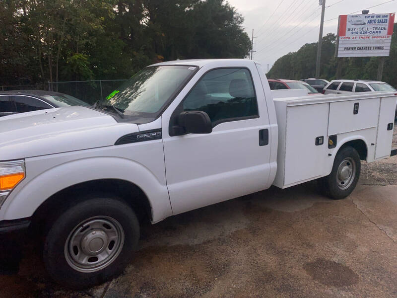 2015 Ford F-250 Super Duty for sale at TOP OF THE LINE AUTO SALES in Fayetteville NC