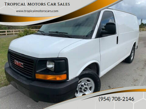 2008 GMC Savana Cargo for sale at Tropical Motors Car Sales in Deerfield Beach FL