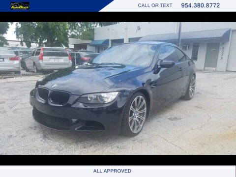 2008 BMW M3 for sale at The Autoblock in Fort Lauderdale FL