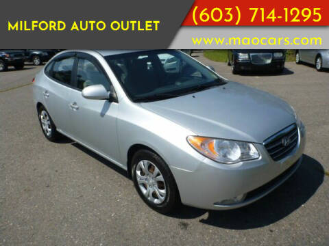 2010 Hyundai Elantra for sale at Milford Auto Outlet in Milford NH