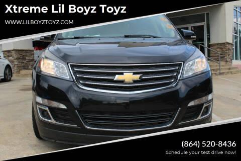 2016 Chevrolet Traverse for sale at Xtreme Lil Boyz Toyz in Greenville SC