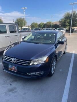 2013 Volkswagen Passat for sale at Stephen Wade Pre-Owned Supercenter in Saint George UT