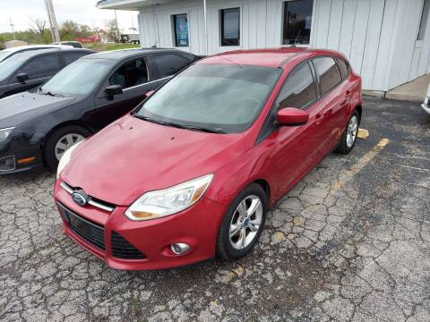 2012 Ford Focus for sale at Bourbon County Cars in Fort Scott KS