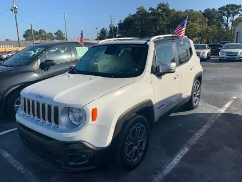 2016 Jeep Renegade for sale at Sun Coast City Auto Sales in Mobile AL