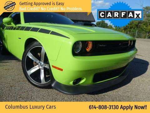 2015 Dodge Challenger for sale at Columbus Luxury Cars in Columbus OH