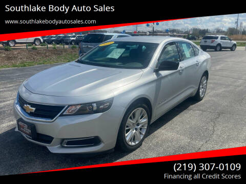 2015 Chevrolet Impala for sale at Southlake Body Auto Sales in Merrillville IN