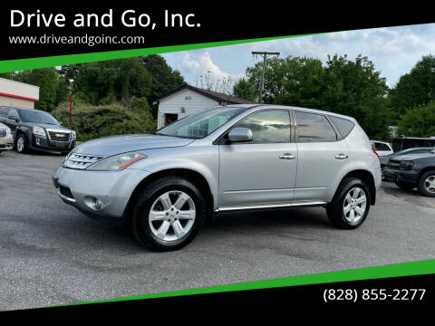 2007 Nissan Murano for sale at Drive and Go, Inc. in Hickory NC
