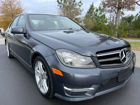 2014 Mercedes-Benz C-Class for sale at LA 12 Motors in Durham NC