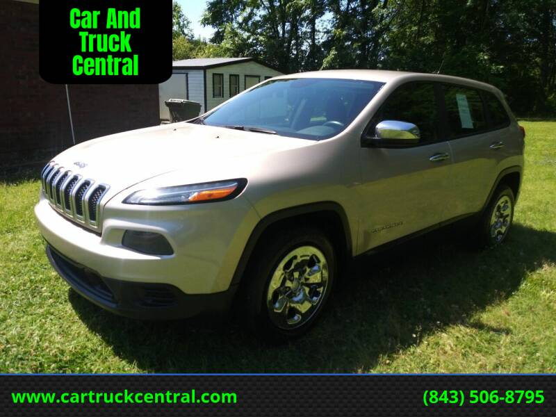 2014 Jeep Cherokee for sale at Car And Truck Central in Dillon SC