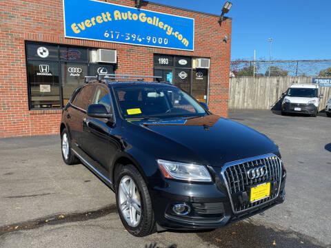 2014 Audi Q5 for sale at Everett Auto Gallery in Everett MA