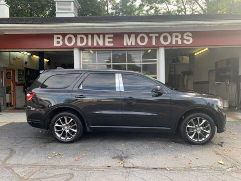 2014 Dodge Durango for sale at BODINE MOTORS in Waverly NY