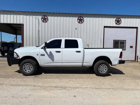 2012 RAM Ram Pickup 2500 for sale at Circle T Motors INC in Gonzales TX