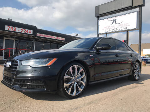 2013 Audi A6 for sale at NORRIS AUTO SALES in Oklahoma City OK
