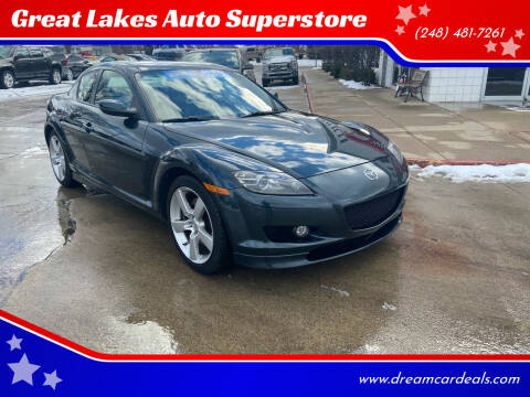 2005 Mazda RX-8 for sale at Great Lakes Auto Superstore in Pontiac MI