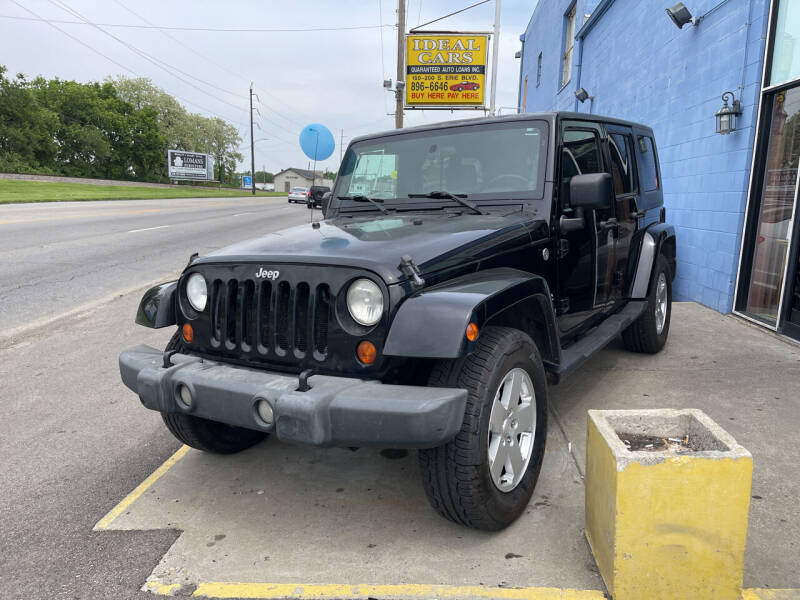 2007 Jeep Wrangler Unlimited for sale at Ideal Cars in Hamilton OH