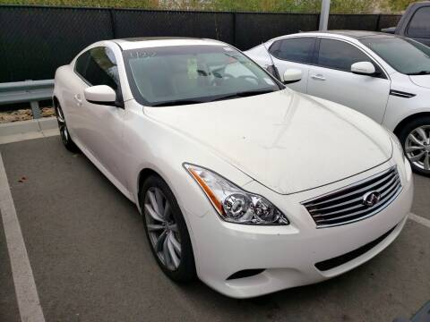 2010 Infiniti G37 Coupe for sale at MCHENRY AUTO SALES in Modesto CA