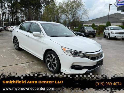 2016 Honda Accord for sale at Smithfield Auto Center LLC in Smithfield NC