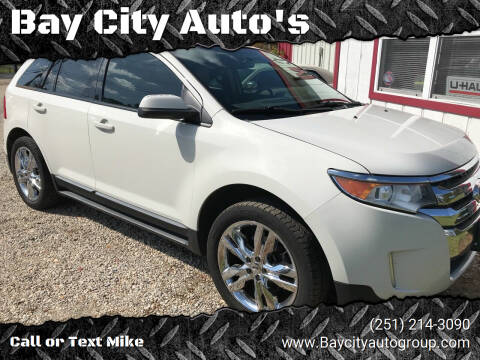2012 Ford Edge for sale at Bay City Auto's in Mobile AL