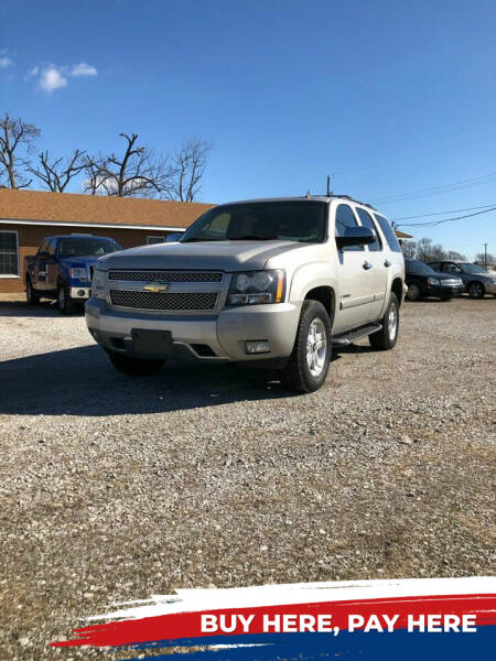 2008 Chevrolet Tahoe for sale at Marti Motors Inc in Madison IL