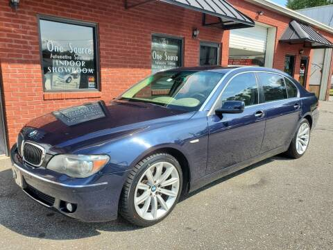 2008 BMW 7 Series for sale at One Source Automotive Solutions in Braselton GA