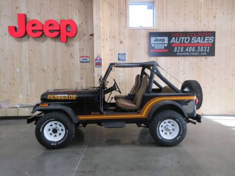 1986 Jeep CJ-7 for sale at Boone NC Jeeps-High Country Auto Sales in Boone NC