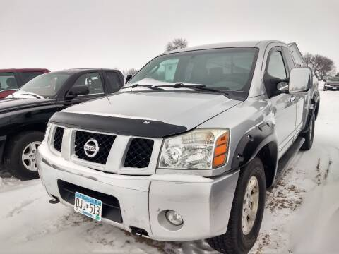 2004 Nissan Titan for sale at RDJ Auto Sales in Kerkhoven MN