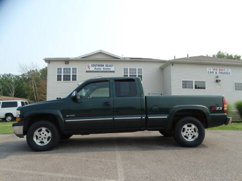 2002 Chevrolet Silverado 1500 for sale at SOUTHERN SELECT AUTO SALES in Medina OH
