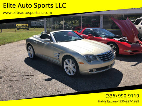 2007 Chrysler Crossfire for sale at Elite Auto Sports LLC in Wilkesboro NC