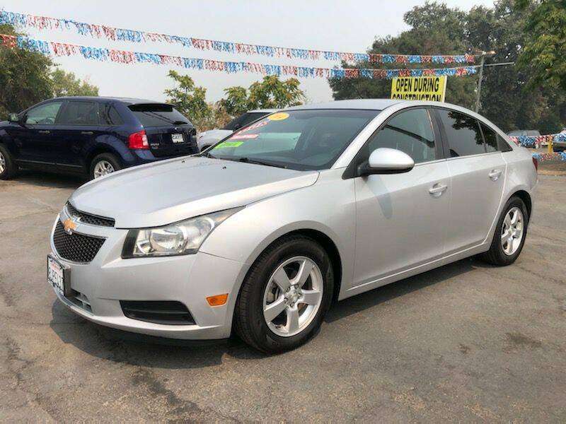2014 Chevrolet Cruze for sale at C J Auto Sales in Riverbank CA