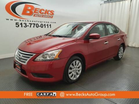 2014 Nissan Sentra for sale at Becks Auto Group in Mason OH