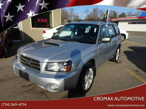 2004 Subaru Forester for sale at Cromax Automotive in Ann Arbor MI