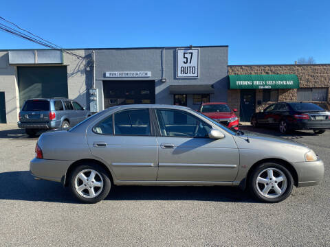 2003 Nissan Sentra for sale at 57 AUTO in Feeding Hills MA