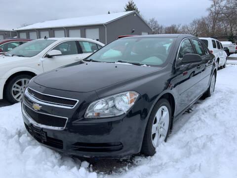 2012 Chevrolet Malibu for sale at Blake Hollenbeck Auto Sales in Greenville MI