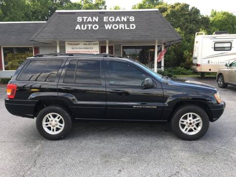 2000 Jeep Grand Cherokee for sale at STAN EGAN'S AUTO WORLD, INC. in Greer SC
