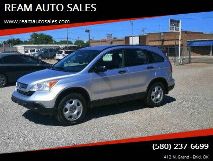 2009 Honda CR-V for sale at REAM AUTO SALES in Enid OK