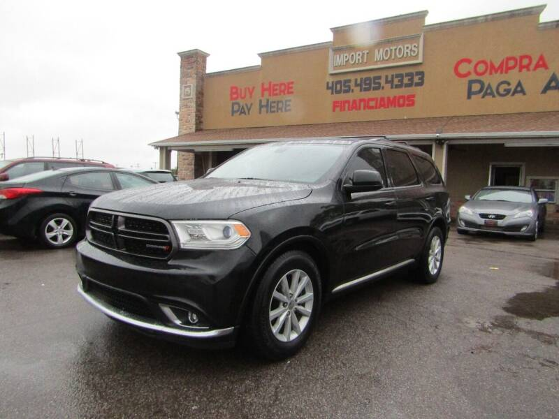 2014 Dodge Durango for sale at Import Motors in Bethany OK