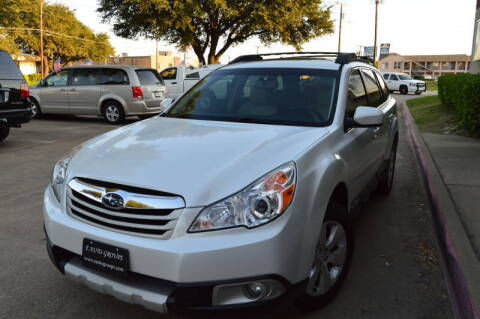 2011 Subaru Outback for sale at E-Auto Groups in Dallas TX