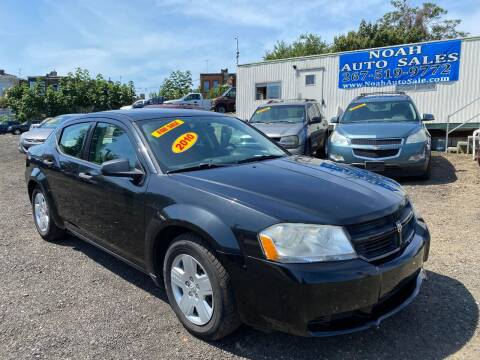 2010 Dodge Avenger for sale at Noah Auto Sales in Philadelphia PA