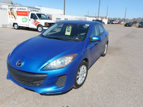 2012 Mazda MAZDA3 for sale at AUGE'S SALES AND SERVICE in Belen NM
